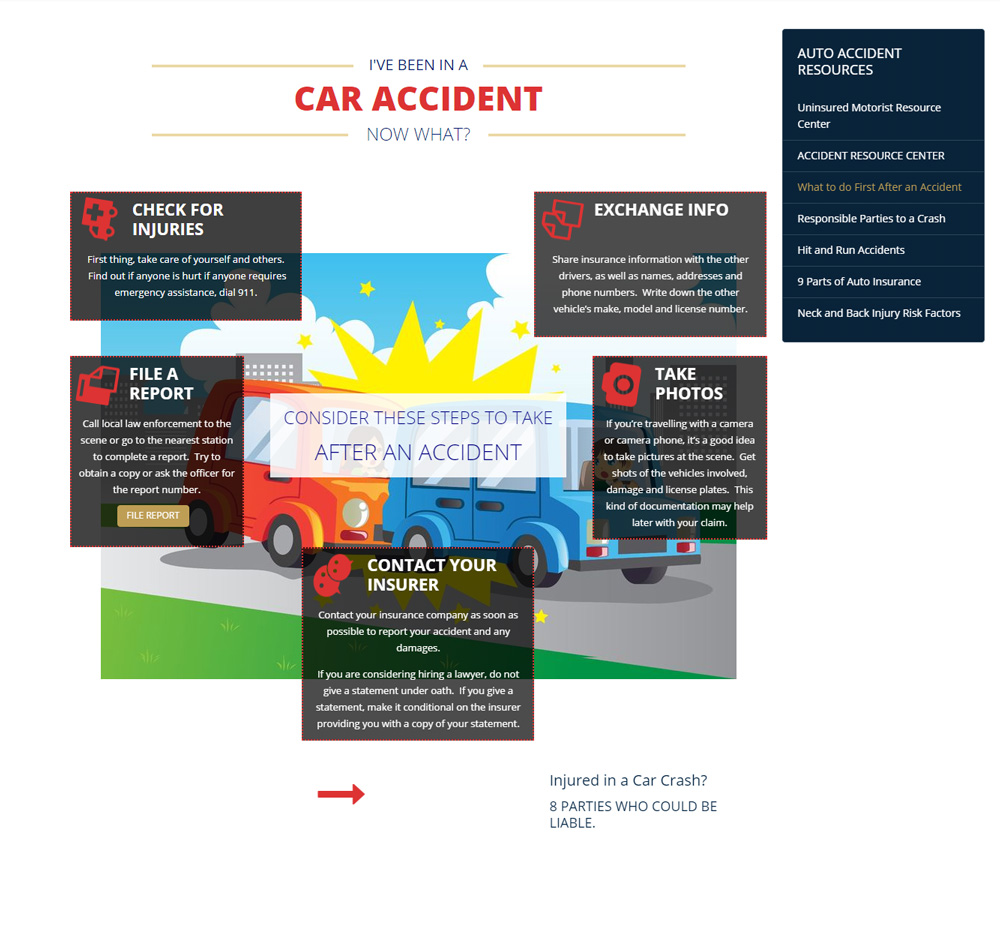 auto accident attorney, barry p goldberg