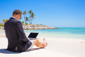 The best part of blogging? You can do it from anywhere!